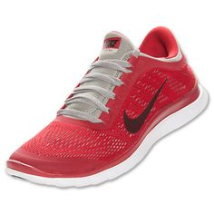 04cfbffd182a Nike Free 3.0 V5 Mens Gym Red Black Mine Grey White 580393 600 Nike Shoes  For