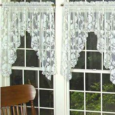 Windsor 72×44″ Swag Pair – Heritage Lace Timeless & Classic Collection – 8200AS-44PR, 8200ES-44PR   Lace Curtain Store