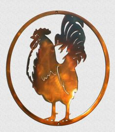 Excited to share this item from my shop: Rooster In Oval Country Kitchen Metal Wall Art Kitchen Metal Wall Art, Outdoor Metal Wall Art, Rustic Theme, Nautical Theme, Metal Worx, Man Cave Metal, Plasma Cutting, Great Christmas Gifts, Art Themes