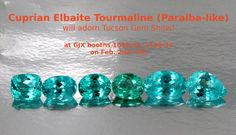 Amazing gemstone collection in Tucson Gem Show!!!
