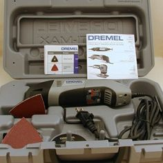 Dremel Multimax. What a tool for lots of home and crafting projects!  I'm going to try mine to sculpt.  Up until now, I've only used it for home repair -
