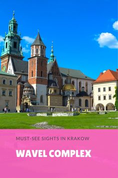 Beautiful Wavel Complex, Krakow. Learn more on best things to do and see in Krakow in our ultimate Krakow travel guide.
