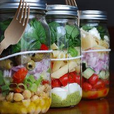 mason jar food meals... how do you eat them?