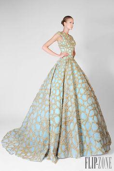 """Rami Kadi """"Un souffle d'Orient"""", O-I 2014-2015 - Alta-Costura - http://pt.flip-zone.com/fashion/couture-1/independant-designers/rami-kadi-4818"""