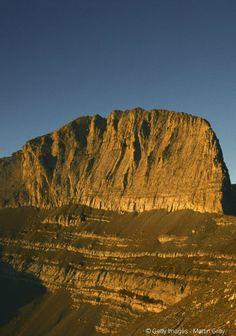 Le Mont Olympe, visible depuis Thessalonique.