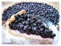 Vanilja-mustikkapiirakka Baking Recipes, Cake Recipes, Dessert Recipes, Scandinavian Food, Sweet Pastries, Sweet Pie, Sweet And Salty, Let Them Eat Cake, I Love Food