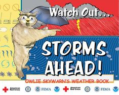 The National Weather Service has tons of student activities to prepare for weather safety.