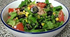 Tuna Salad Recipes-Seriously, no joke, it is the best tuna salad recipe. It's the main one my mom, and before that, my grandma has designed for years. It's a classic rec. Best Tuna Salad Recipe, Diet Salad Recipes, Salad Recipes Video, Healthy Recipes, Healthy Food, Think Food, No Calorie Foods, Food Hacks, Food Videos