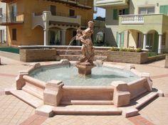 "Dorothea Fountain (large) - #928 - 7150 lbs. - 21.3"" tall - 137.8/189.76 dia - Garden Fountain"