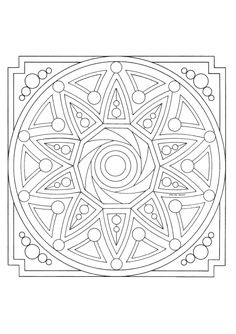 STCI, adult coloring mandalas and children: wide selection of miscellaneous mandalas to color