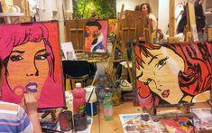 POPART Výtvarné kurzy VytFit- kurzy kreslenia, malovania pre každého, Kreatívne dielne v oblastiach kresba, malba, grafika, úžitkové umenie, príprava na SŠ, VŠ- architektúra, design, animovaná tvorba, teambuildingové akcie a workshopy pre firemné kolektívy Bratislava, Painting, Art, Art Background, Painting Art, Kunst, Paintings, Performing Arts, Painted Canvas