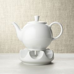 Crate & Barrel Arzberg Teapot with Warmer Aqua Kitchen, Kitchen Dining, Tea Warmer, Client Gifts, Tea Strainer, Ceramic Teapots, Jar Lamp, Outdoor Cooking, Crate And Barrel