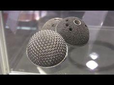 3d printing with metal, titanium & aluminum VIDEO