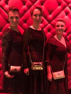Three alternative styles of  Goshico handbags :-)