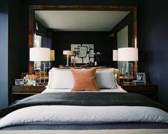 Great mens bedroom.