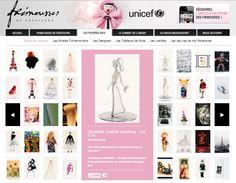 """GERALDINE CARFIELD JEWELLERY participe à """"Frimousses de Créateurs 2013"""" avec sa poupée """"Géraldine Chérie""""!  http://www.frimoussesdecreateurs.fr/"""