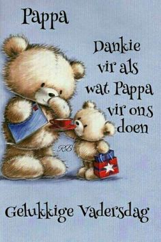 'With Love Daddy On Father's Day' - Simon Elvin Cute Father's Day Card - Cute Teddies Design Fathers Day Messages, Fathers Day Wishes, Fathers Day Cards, Happy Fathers Day, Happy Mothers, Birthday Msgs, Birthday Wishes, Birthday Cards, Unique Gifts For Dad