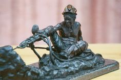 Miner Rock Drilling by Barry E. Jackson