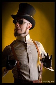 Present: Steampunk in music: Dr. Steel   (Bif Bam Pop, Wordpress.com)