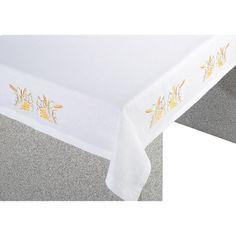 80-3913 'Eucharist' motif on Blended Linen Altar Cloth