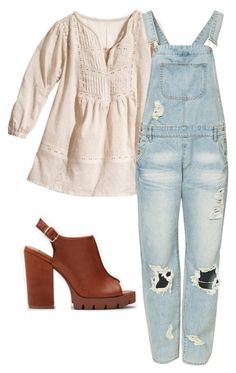 """Maya Hart"" by sassycarpenter on Polyvore featuring moda, H&M i Somedays Lovin"