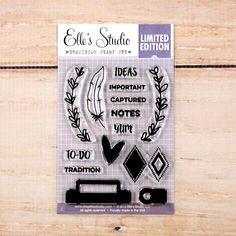 Tradition Stamp  from Elle's Studio