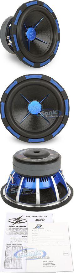 Car Subwoofers: Power Acoustik Mofo-122X 12 2700W Dual 2 Ohm Car Subwoofer Car Audio Sub Woofer -> BUY IT NOW ONLY: $129.99 on eBay!