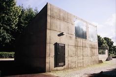 The Architecture of Sigurd Lewerentz.  Flower kiosk for the Eastern Cemetery in Malmo