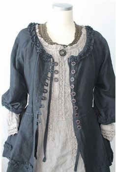 Dressing My Truth........ Ideas for Type 2: Tops~~Shabby Chic and Peasant lots of great ideas!