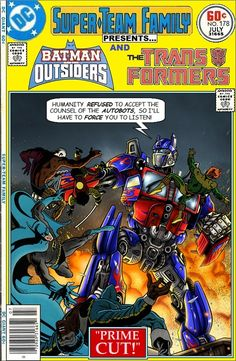 Super-Team Family: The Lost Issues!: Batman and The Outsiders and The Transformers