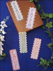 Needlework Plastic Canvas - Bible Bookmarks Pattern Pack - #A839804