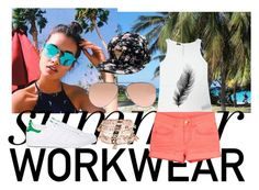 """Summer 😎☀"" by twenty-one-pilots-1 on Polyvore featuring mode, Ray-Ban, Accessorize et adidas"