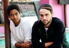 Alfie Enoch and Jack Falahee How to get away with murder. Oh Alfie, I've  loved you since Harry Potter