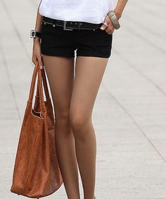 That girl with the perfect legs.