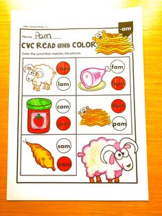 Download free phonics CVC printables at preview. Teaching kindergarten classroom with engaging activities and worksheets. A great companion of phonics and literacy centers. #phonicsworksheets #kindergartenactivities Teaching Phonics, Phonics Worksheets, Phonics Activities, Kindergarten Classroom, Kindergarten Activities, Cvc Words, Literacy Centers, Reading, Free