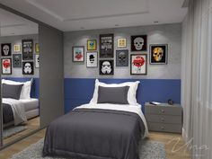 Fine Decorar Quarto Jovem Rapaz that you must know, Youre in good company if you?re looking for Decorar Quarto Jovem Rapaz Bedroom Setup, Boys Bedroom Decor, Room Decor For Teen Girls, Big Boy Bedrooms, Home Room Design, House Rooms, Cheap Home Decor, Boy Room, Room Inspiration