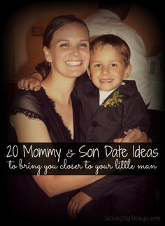 Enjoy quality time with your little man!  Check out these mommy & son date ideas | Saving By Design