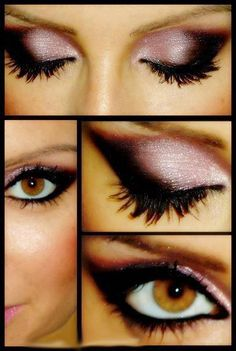 pinkish-purple & plum, my fave eyeshadow shades <3