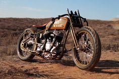 ϟ Hell Kustom ϟ: Harley Davidson By Kiwi Indian Motorcycle Company