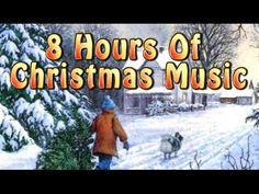 ✰ 8 HOURS ✰ CHRISTMAS MUSIC Instrumental ✰ Christmas Songs ...