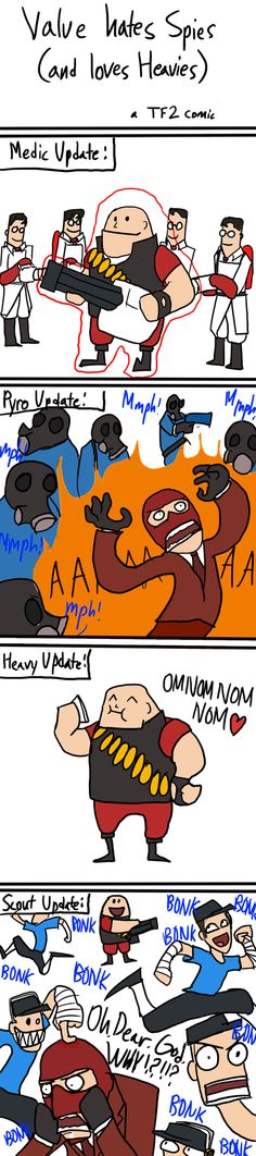 TF2: Valve hates Spies by Pandadrake on DeviantArt