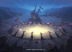 Drownyard Temple - Shadows over Innistrad Art