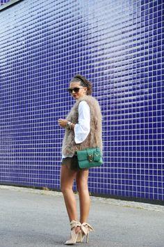 outfit-fashionhippieloves-summer-feather-vest-lace-khaki-shorts