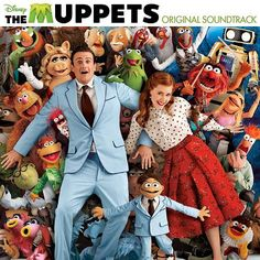(01) The Muppet Show Theme [Cast Of The Muppets], (02) Life's A Happy Song [Jason Segel (as Gary), Amy Adams (as Mary) & Peter Linz (as Walter)], (03) Pictures In My Head [Steve Whitmire (as Kermit) & Cast Of The Muppets], (04) Me & Julio Down By The Schoolyard [Simon], (05) Rainbow Connection (Moopets version) [Eric Jacobson (as Fozzie Bear) & The Moopets], (06) We Built This City [Starship], (07) Me Party [Amy Adams (as Mary) & Eric Jacobson (as Miss Piggy)] [Cont. in comments]