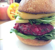 Make your own beet burgers in less than an hour #healthy #cleaneating