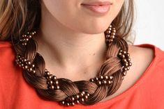 Otros - Collar artesanal para mujeres bisutería fina - hecho a mano por FairyJewelries en DaWanda