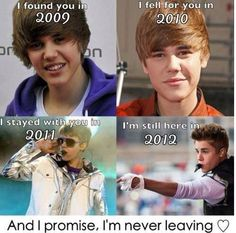 the history of bieber