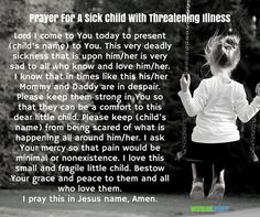 8 miracle prayers for a sick child - nursebuff Prayers For Healing Children, Prayers For Sick Child, Prayer For Healing The Sick, Prayer For Health, Prayers For Strength, Healing Prayer, Sick Child Prayer, Angel Healing, Prayer For Baby