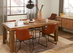 CARLOW Grey Extendable acacia wood dining table to 269 Dining Room Furniture, Modern Furniture, Dining Chairs, Dining Rooms, Table Haute, Design Moderne, Extendable Dining Table, Acacia Wood, Cozy House
