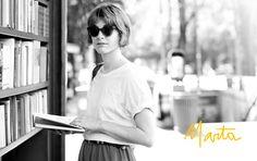 This girl's cute. I like her whole look.     Marta | Garance Doré
